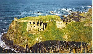 Findlater Castle, ancestral seat of the Earls ...