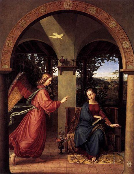File:Julius Schnorr von Carolsfeld - Annunciation - WGA21011.jpg