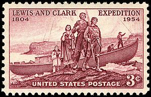 English: U.S. Postage: Lewis and Clark Expedit...