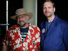 Michael Hart (left) and Gary Newby of Project Gutenberg.