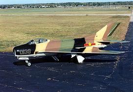 Mikoyan-Gurevich MiG-19S Farmer USAF.jpg