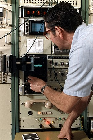 NOAA engineer at work