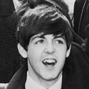 Photograph of Paul McCartney of the The Beatle...