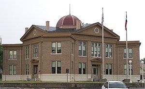 The Rains County Courthouse located in Emory, ...