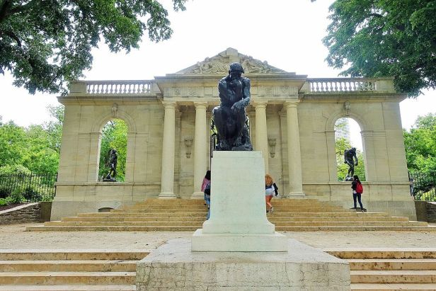 Rodin Museum - Joy of Museums - The Thinker