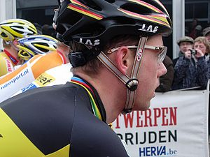 English: Cyclo crosser from Belgium, Sven Nijs...