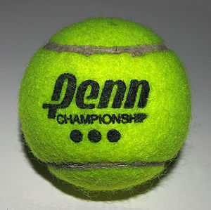 A Tennis ball Author: User:Fcb981