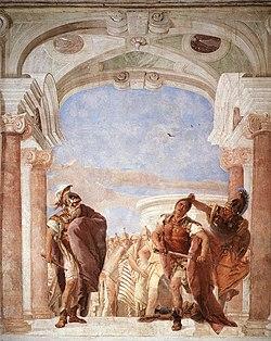 The Rage of Achilles, by Giovanni Battista Tiepolo