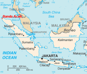 Banda Aceh location