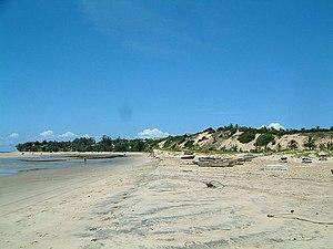 English: Barra beahc, Inhambane, Mozambique