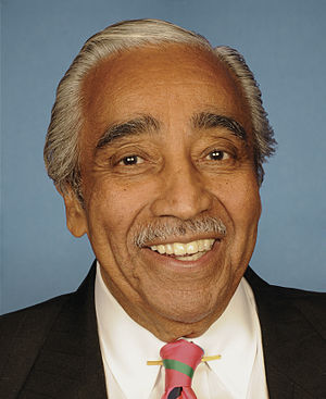 English: Portrait of US Rep. Charles B Rangel