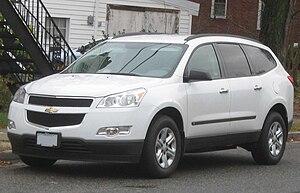2009-2010 Chevrolet Traverse LS photographed i...