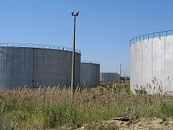 Depósito petrolæero