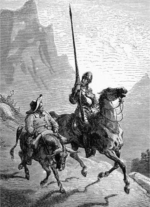 Don Quijote también supo rodearse de las personas adecuadas cuando mantuvo a su lado a Sancho Panza.