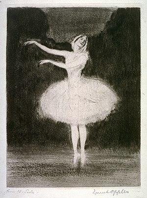 Ernst Oppler Ballet Dancer