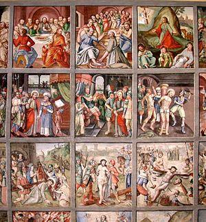 English: Lenten Cloth in the Museum Gherdëina ...