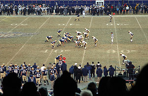 2002 Army-Navy college football game at Giants...
