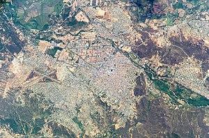Imagen Satelital de Cúcuta