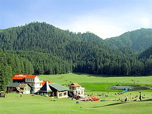 A summer afternoon at Khajjiar, Himachal Prade...