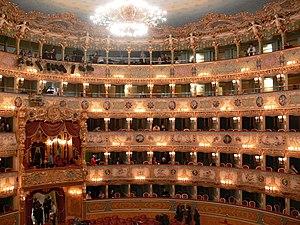 Auditorio, Teatro La Fenice, Venezia, Italia