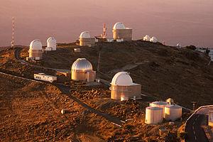 A ring of telescopes at ESO's La Silla observa...