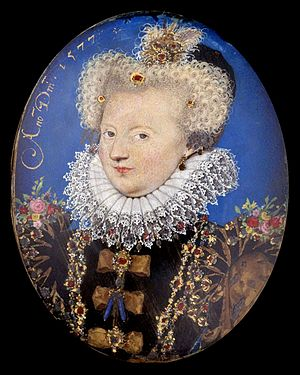 Marguerite of Valois, Queen of Navarre). Minia...