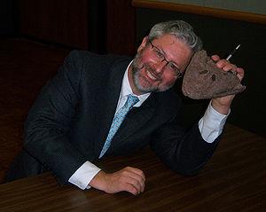English: Neil Shubin at the University of Tulsa.