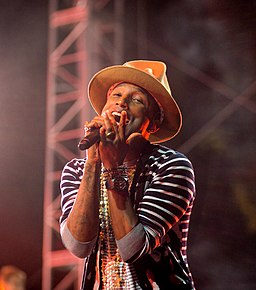 Pharrell Williams – Coachella 2014 (cropped)