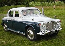 1962 Rover P4 80