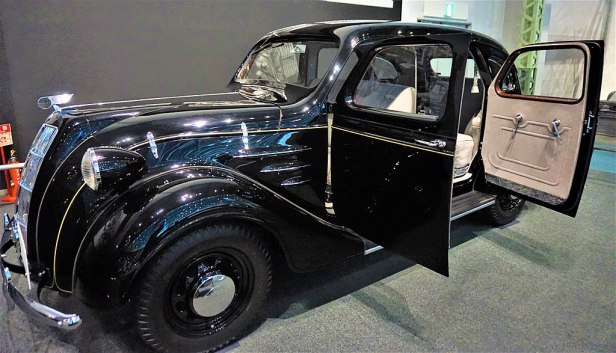 Toyota Sedan Model AA - Toyoda first Car - Joy of Museums - Toyota Commemorative Museum of Industry and Technology