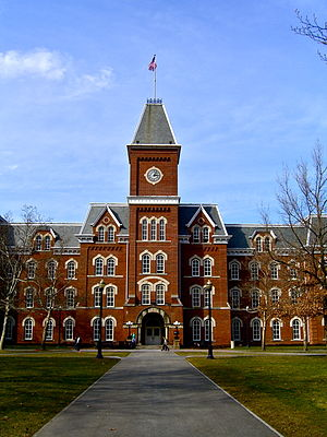 Ohio State University's well-known University Hall
