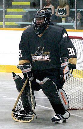 Goaltender (box lacrosse)  Wikipedia