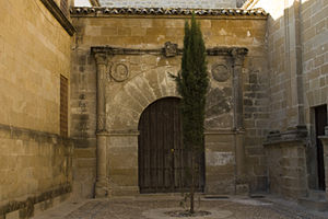 English: Door of the prison of the Holy Inquis...
