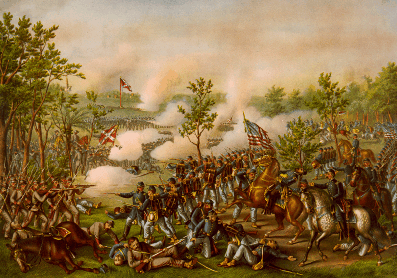 Battle of Atlanta and death of Gen. James B. McPherson
