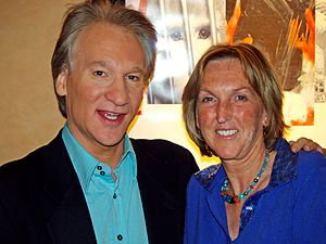 Bill Maher and Ingrid Newkirk