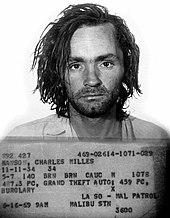 US- Amerikanischer Massenmörder und Psychopath Charles Manson. Die meisten Psycho- und Soziopathen handeln nicht so offensichtlich wie er. (Bildquelle: Wikipedia)