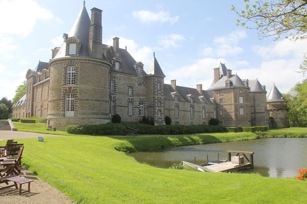 wonderful chateau in normandy france euroresalescom - 1024×683
