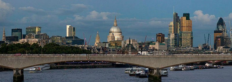 File:City of London skyline at dusk.jpg