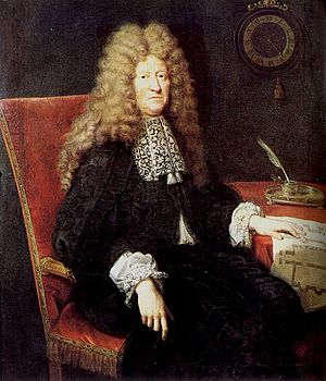 Colbert in 1682.