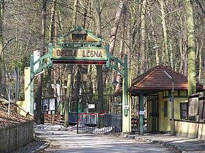 Entrance Opera Lesna Sopot (Polska) - Eingang ...