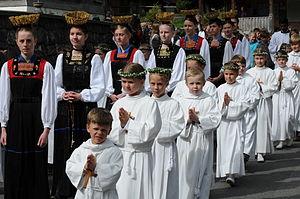 Erstkommunion 2011 Schwarzenberg 09
