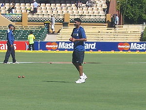 Harbhajan Singh, Indian cricketer. 4 Test seri...