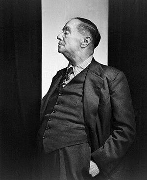 H. G. Wells in 1943.