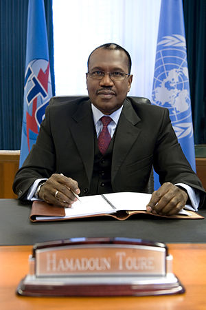 English: Dr Hamadoun Touré, Secretary-General ...