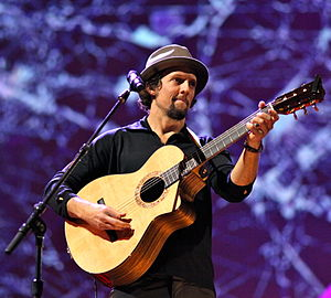 Jason Mraz performing at the February 28 - Mar...