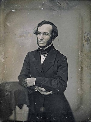 Alberdi's daguerreotype taken in Chile, dated ...