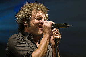 Carlos Tarque cantante de MClan