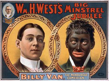 Minstrel PosterBillyVanWare