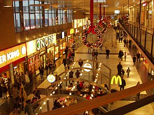 Nordstan, the largest shopping mall in norther...