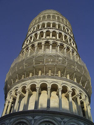 English: The Leaning Tower of Pisa, Italy Pols...